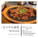 【セマウル食堂】熊本県並木坂通りに韓国料理屋さんができたのを知ってましたか?